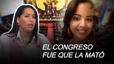 La Joven Yanely Arias Rociada Con ácido Del Diablo Fue El Congreso Que La Ultimó Asegura Solano