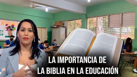 La Importancia De La Biblia En La Educación