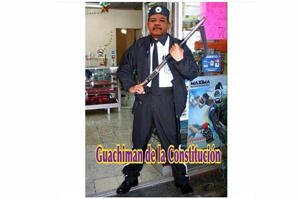 """Leonel, """"el Guachimán De La Constitución"""": Después Del Discurso Los Memes No Se Hicieron Esperar"""