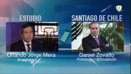 Daniel Zovatto Desde Chile Vía Telefónica Opina Sobre La Ley De Régimen Electoral De RD