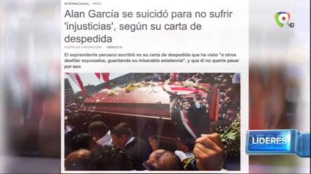 """Alan García Se Suicidó Para No Sufrir """"Injusticia"""", Según Su Carta De Despedida"""