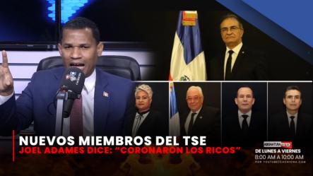 """Los Nuevos Miembros Del TSE """"Coronaron Los Ricos""""   Asignatura Política"""