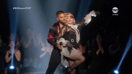 Presentación De Maluma Con Madonna En Los Premios Billboard