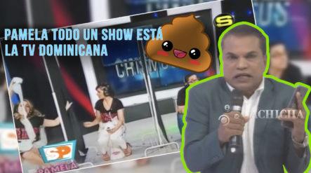 """En Pamela Todo Un Show Están """"cagando"""" La Televisión Dominicana Según El Internacional Mamola"""