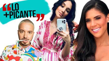 Mientras J Balvin Y Francisca Lachapel Pasan Un Momento Amargo, Amelia Vega Celebra Su Nueva Bebé