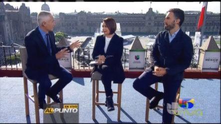 Jorge Ramos Transmitiendo Las Elecciones Presidenciales Con Entrevistas De Los Candidatos