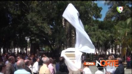 Develan Estatua De Juan Pablo Duarte En El Parque Duarte De Santiago – Zona Norte