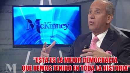 McKinney Entrevista Al Director Del DNI Sigfidro Pared Pérez Quién Habla De La Situación Actual Del País