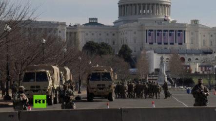 Miles De Tropas Llegan A Washington Antes De La Inauguración De Biden