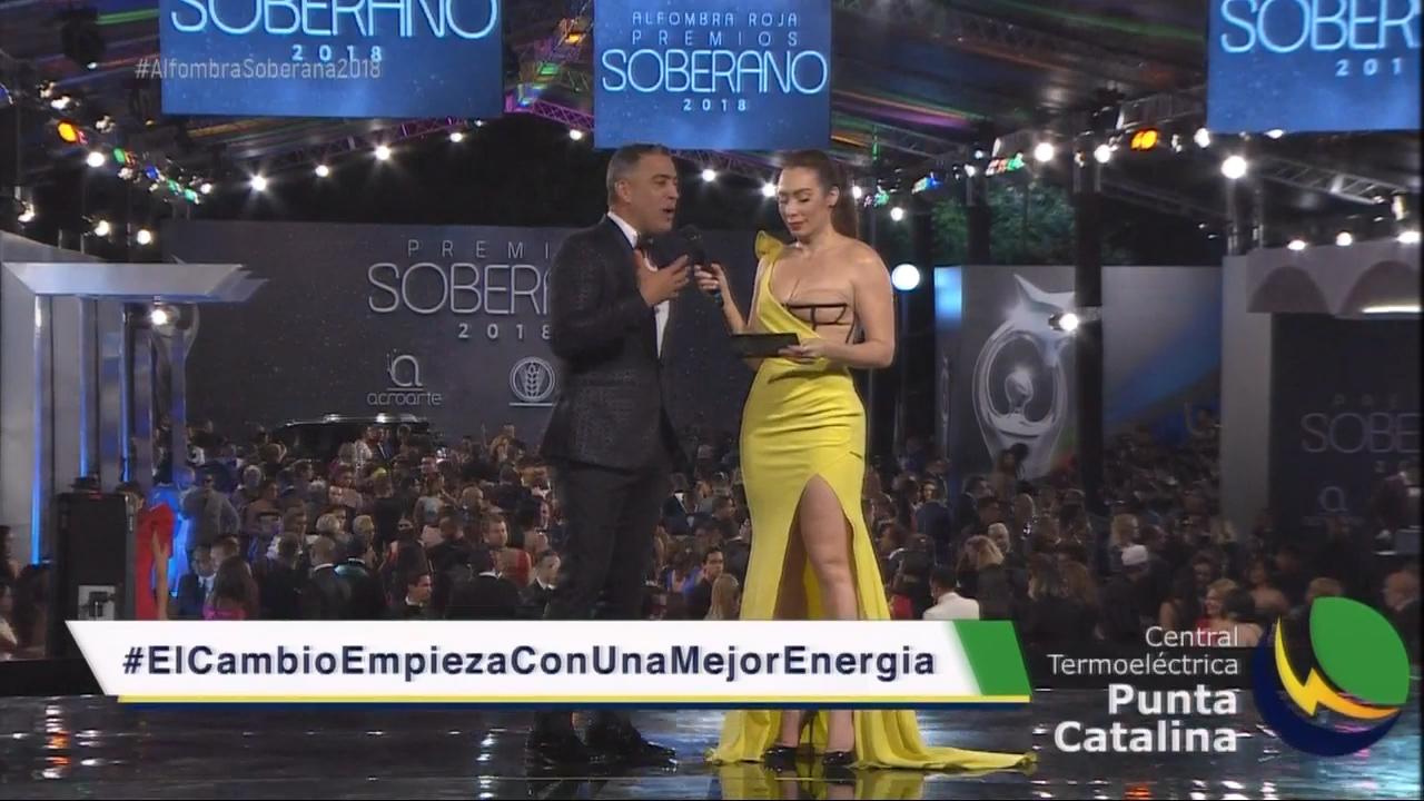 Miralba Ruiz  Entrevista  A Francisco Vazquez En La Alfombra Roja De Premios Soberano 2018  #PremioSoberano2018 #TamoEnSoberano #PremioSoberano #Soberano2018 #CachichaEnPremioSoberano