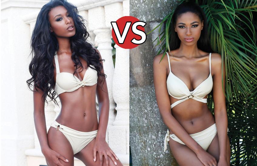 ¿Cuál Te Parece Más Bella: Miss Haití O Miss Sudáfrica?
