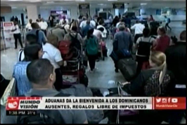 Comienzan A Llegar Dominicanos Radicados En El Extranjero