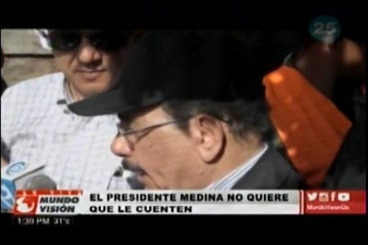 El Presidente Medina Recorre Gran Parte De Los Sectores El Cibao Y Dice Que No Quiere Que Le Cuenten