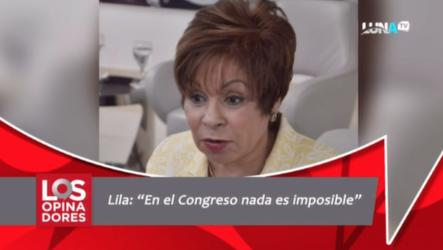 """""""Nada Es Imposible En El Congreso"""", Dice Rafaela Alburquerque Sobre Una Posible Reelección"""