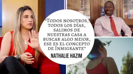 Nathalie Hazim Nos Cuenta Como Surgió La Canción Inmigrante -Interview   (2/2)