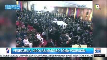 Otra Vez: Nicolás Maduro Toma Posesión De La Presidencia En Venezuela