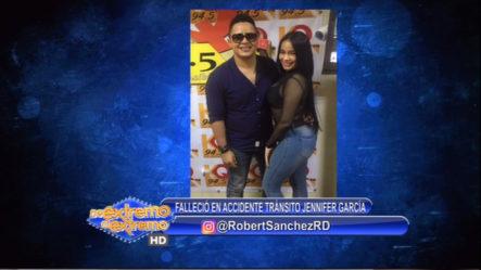 Robert Sánchez: Actriz Jennifer García Fallece En Accidente De Tránsito