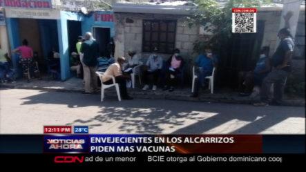 Envejecientes Piden Más Vacunas En Santo Domingo