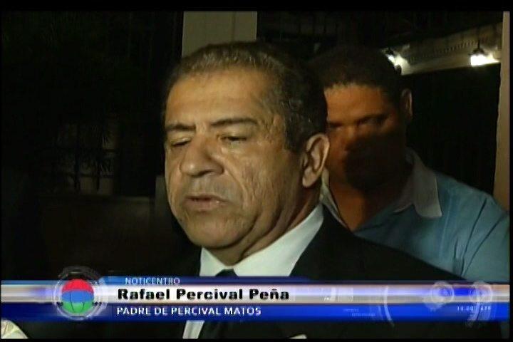 El General Percival Peña Se Reune Con El Director Del DNI