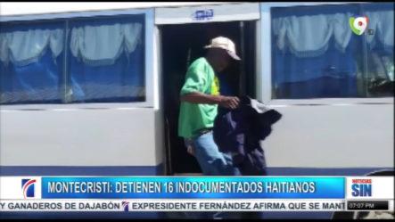 Detienen 16 Indocumentados Haitianos En Montecristi