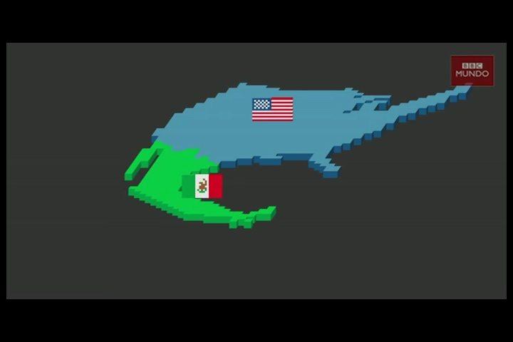 Los Muros Que Ya Separan A México Y Estados Unidos