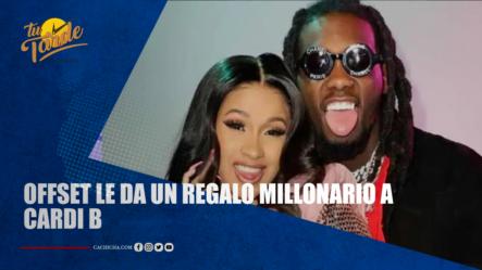 Offset Le Da Un Regalo Millonario A Cardi B   Tu Tarde
