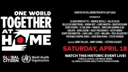 "Lady Gaga Anuncia Especial ""One World: Together At Home"""