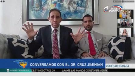 Doctor Cruz Jiminián Cuenta Como Dios Le Devolvió La Vida
