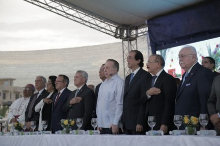 Presidente Medina Inaugura El Parque Temático De Energía Renovable, Dos Escuelas Y Estancia Infantil En Ciudad Juan Bosch