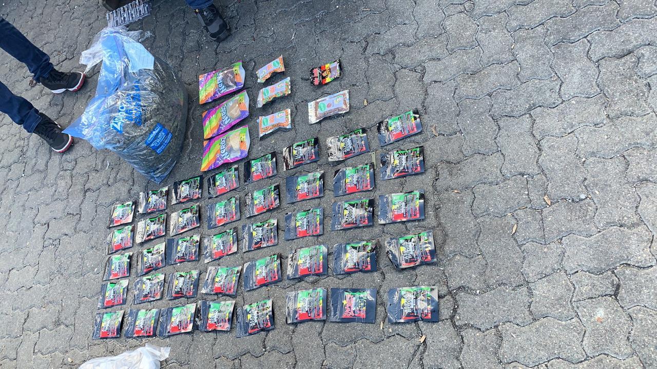 49 Paquetes Marihuana en Haina, Cannabis y 600 Pastillas Éxtasis en AILA