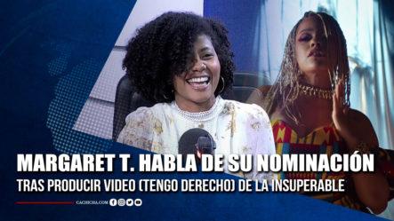 Margaret Tapia; Nominada Al Mejor Videoclip   Tu Tarde By Cachicha