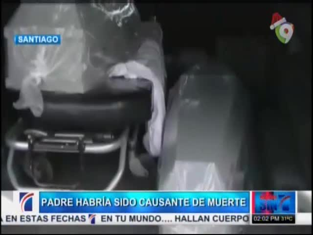 Padre Fue Causante De Incendio Que Mató Dos Niños En La Vega #Video