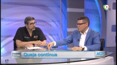 """El Tema De Hoy En Panorama Semanal: """"Queja Contínua"""""""