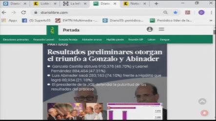 Infórmate Con Las Portadas De Los Principales Periódicos De Hoy 07 De Octubre 2019