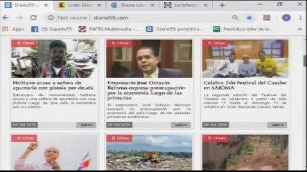 Infórmate Con Las Portadas De Los Principales Periódicos De Hoy 10 De Octubre 2019