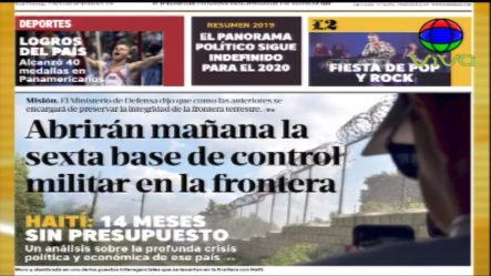 Infórmate Con Las Portadas De Los Principales Periódicos De Hoy 16 De Diciembre 2019