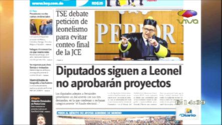 Infórmate Con Las Portadas De Los Principales Periódicos De Hoy 11 De Octubre 2019
