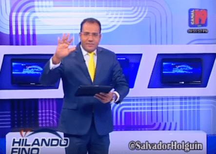 Periodista Salvador Holguín Dice A Danilo Medina Le Faltan 2 Visitas Sorpresas; A Quirino Y A él
