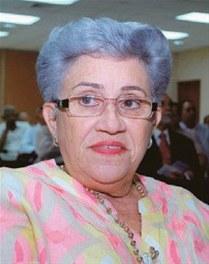 Alcaldesa de Jarabacoa, Piedad Quezada de Domínguez