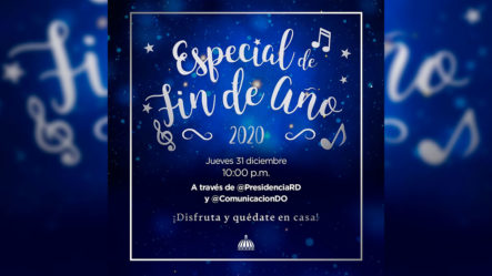 Con Merengue Y Música Urbana Despedimos El 2020 Y Le Damos La Bienvenida Al 2021. Especial Fin De Año