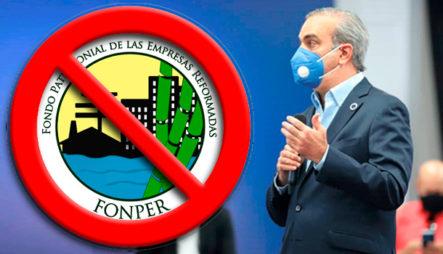 La Razón Por La Que El Presidente Electo Luis Abinader Eliminará (FONPER)
