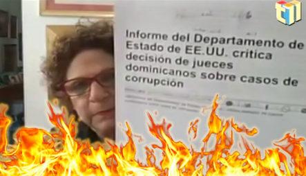 """Consuelo Se """"riega Feamente"""" Y Detalla Los Corruptos Que Hay Que Investigar Y Someter"""