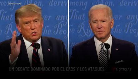 Entre Insultos Y Acusaciones, Así Fue El Primer Debate Presidencial Entre Joe Biden Y Donald Trump