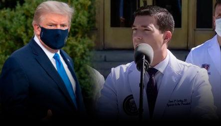 Médicos Aseguran Que El Presidente Trump No Está Teniendo Dificultades Para Respirar