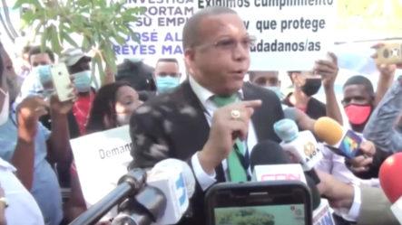 Comunitarios Reclaman La Destitución Del Abogado José Reyes, Acusándolo De Ladrón