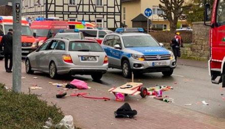 Un Vehículo Arrolló A Varias Personas En Un Desfile De Carnaval En Una Ciudad De Alemania
