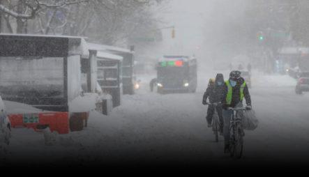 Los Estragos Que Ha Causado La Fuerte Ola Invernal En Nueva York