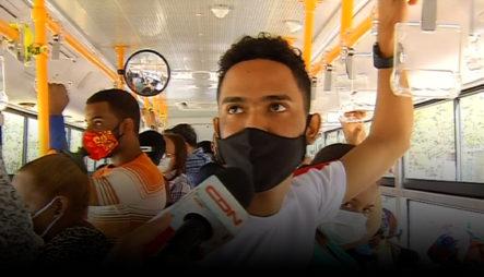 Usuarios Del Transporte Público De La Av. Núñez De Cáceres Están Satisfechos Con Los Autobuses