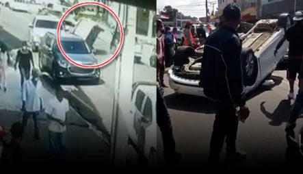 Más Detalles Sobre El Accidente De La Av. Imbert Próximo A Colinas Mall En Santiago