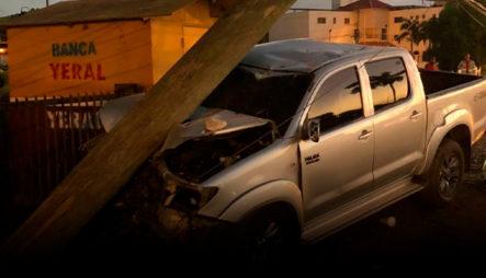 Impactante Accidente Registrado En Los Manantiales, San Francisco De Macorís